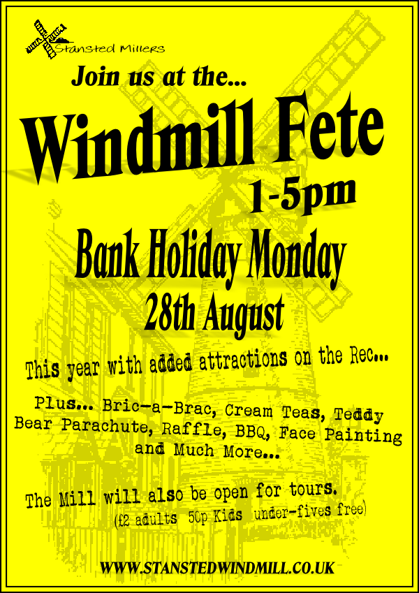Fete Poster 2017 August Bank Holiday PM